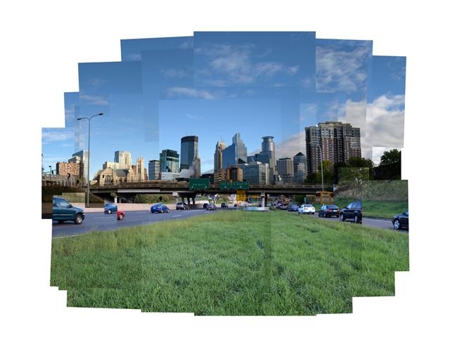 Minneapolis Morning Skyline